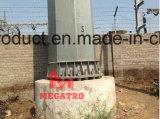 132kv CC Steel Tubular Pali (angolo di sollevamento)