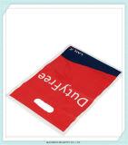Полиэтиленовые пакеты рекламируя материалов ручки отверстия пунша с печатание логоса
