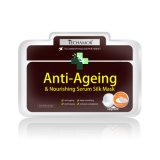 Mascherina d'imbiancatura antinvecchiamento 100% della seta della natura di cura personale