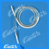 Пробка стоков устранимого медицинского силикона продуктов плоская Perforated