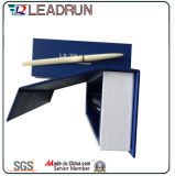 Caja de presentación plástica de empaquetado del embalaje del rectángulo de la pluma de la visualización del papel del rectángulo de la pluma del regalo del lápiz de madera (Ys12A)