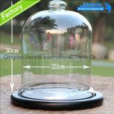 高品質の明確なガラスガラス鐘は卸し売りする