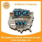 Kundenspezifisches Abzeichen mit harter Decklack-Metallfertigkeit-Medaillen-Geschenk-Andenken