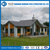 Casa de acero ligera de acero de la casa prefabricada del chalet del chalet del calibrador que enmarca ligero prefabricado