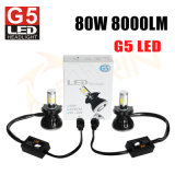 G5 indicatore luminoso automatico dell'automobile dell'automobile H4 H7 H11 H13 9007 LED della lampada del faro dell'automobile LED