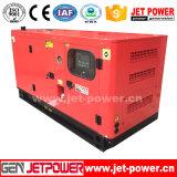 Generatore diesel raffreddato ad acqua a tre fasi 30kw con il prezzo del baldacchino
