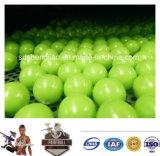Bola al por mayor de la pintura del entrenamiento Paintballs/del calibre del verde 0.68