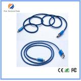 2017 кабель заряжателя USB Micro5p нейлона Braided для Samsung