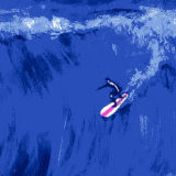 Tissu de polyester de surf