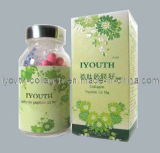 GMP 의 최고 교원질, Iyouth 100% 자연적인 대만 황금 Milkfish 교원질 펩티드 칼슘 마그네슘 캡슐 사치품, 건강식