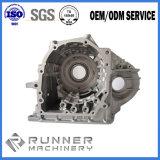O OEM de alumínio morre as peças da carcaça do motor da carcaça com fazer à máquina do CNC