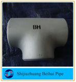 T de aço de carbono igual a conexão de aço Cruz t B16.9