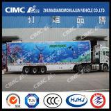 Cimc 3axle Gekoelde Aanhangwagen Huajun
