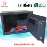 Eletrônica segura com display LCD para escritório (G-25ELD) Aço sólido