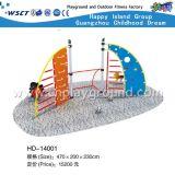 Campo da giuoco d'acciaio esterno per il campo da giuoco dei capretti per l'evento (H13-10007)