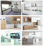 2017 MDF Witte Moderne Aangepaste Keukenkast