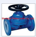 Тип мембранный клапан плотины ANSI для химиката