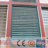 Perfil de alumínio de suprimento de fábrica para o material obturador Portas do Windows