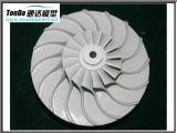 El rojo de aluminio barato del prototipo del departamento de máquina del CNC anodiza