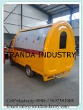 Automobile elettrica mobile del rivenditore del tè del latte di Bublle