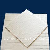 摩擦抵抗のための高密度アルミナのSqureのセラミックタイルのマット