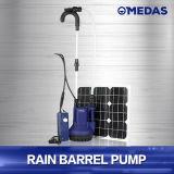 Water het met duikvermogen van het Vat van de Regen de Pomp van 65 Watts met Zonnepaneel
