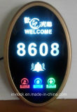 電子Hotel Doorplate及びLED部屋Number DisplayとのTouch Doorbell Switch