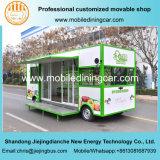 2017 새로운 디자인 청과 녹색 전망 전기 이동할 수 있는 트럭