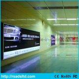 屋外LEDファブリックライトボックスの広告