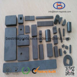 Подгонянный бак, диск, блок, запирает постоянный магнит керамических/феррита