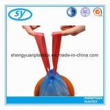 Sac de cordon en plastique de qualité avec la diverse couleur et la taille de logo fait sur commande