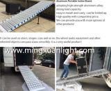 Nuevo portátil de rampas de aluminio plegado inclinada rampa de la junta