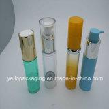 Контейнера косметик бутылки шелковой ширмы бутылка безвоздушного косметическая упаковывая пластичная