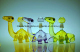 Top Vente USA Colored Material Cute Dinosaur Glass Water Pipe Smoking Pipe Oil Rig avec 14.5mm Joint, for Wholesale