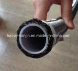 Haute température et le flexible en téflon résistant aux produits chimiques