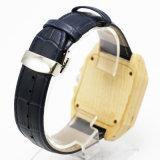 남자를 위한 최신 인기 상품 가죽 목제 시계