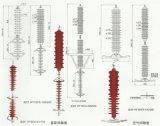 Remhaak van /Surge van de Remhaken van de Bliksem van het Oxyde van het Zink van China de Polymere Gehuisveste (3-36KV)
