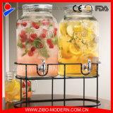 Комплект стеклянного опарника электрического разливочного автомата 2PC с Spigot с шкафом