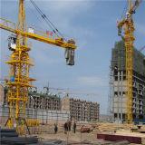 8T Ce SGS adopté grue à tour de la Chine Hsjj en usine