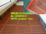 Couvre-tapis en caoutchouc résistant au feu antidérapage utilisé pour les cuisines/étage en caoutchouc