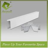 Алюминиевая художническая конструкция потолка решетки