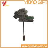 Distintivo lungo di Pin di metallo dell'ago dell'annata di fabbricazione della Cina (YB-SM-03)