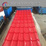 Folha de telhado ondulado colorido / PPGI Painel de telhado PPGL / Folha de cobertura pré-pintada