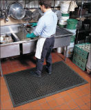 Tapis d'évier résistant à l'huile de cuisine, tapis de gel en caoutchouc