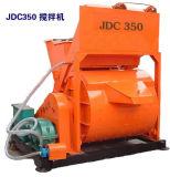 De elektrische Horizontale Apparatuur van de Concrete Mixer van de As (JDC350)