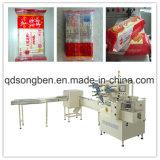 Biskuit auf Rand-Verpackungsmaschine mit Zufuhren