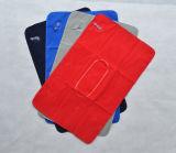 Almofada de pescoço inflável Rectangle de promoção para viagens
