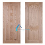 2150X600X3mm EPの灰の木製のベニヤHDF MDFのドアの皮