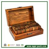 Personalizar retro grabado láser Caja de madera para regalo