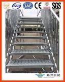 Escadas de aço no exterior para o evento de desembarque ou armazém com alta qualidade